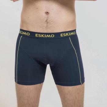 shorty coton-élasthane pour homme - duncan marine jaune M - L