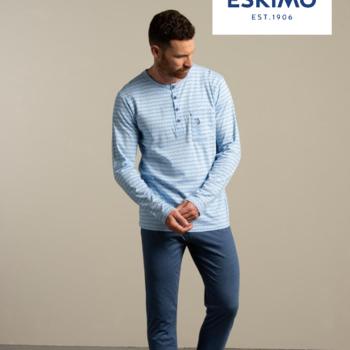 pyjama coton jersey pour homme - marc 3 boutons 3XL