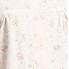 robe de nuit courtes manches coton jersey - amelia L - XL - XXL - à partir de