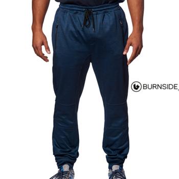 pantalon jogging 100% polyester - marine M - L