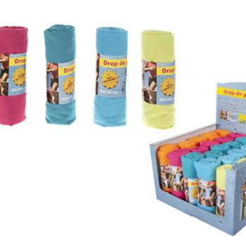 essuie de plage microfibre en différents coloris 80*130cm