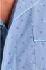 pyjama boutonné tergal pour homme - pale M - L - XL - XXL - 3XL