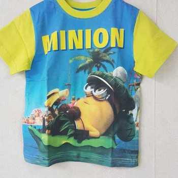t-shirt minion jaune 6 ans 7 ans 8 ans 9 ans 10 ans