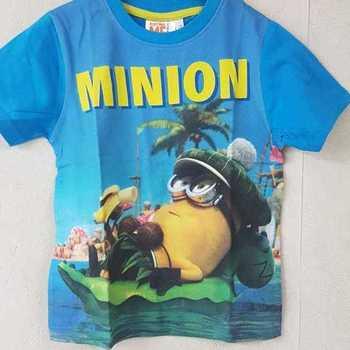 t-shirt minion bleu 5 ans 6 ans 7 ans 8 ans 9 ans 10 ans