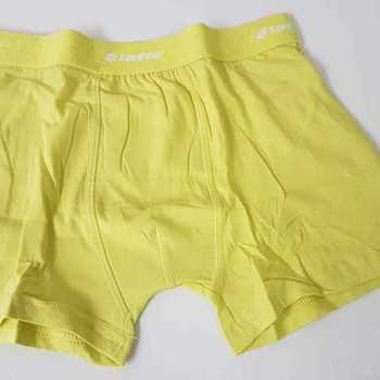 "shorty coton-élasthane ""lotto"" 6/8 ans 8/10 ans 10/12 ans jaune"