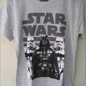 t-shirt star wars gris - 10ans 11ans