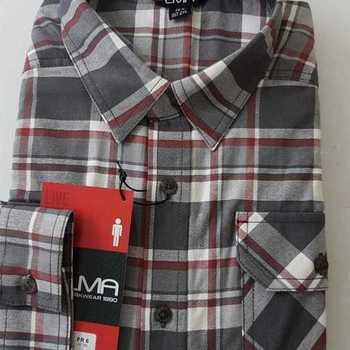 chemise flanelle pour homme - robot L - XL - XXL