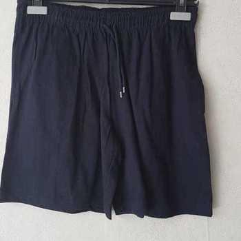 short coton jersey pour adulte - S marine