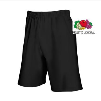 short coton jersey pour adulte - noir M - L - XL - XXL à partir de