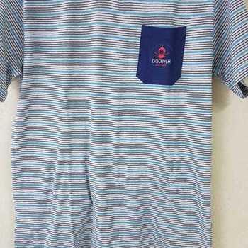pyjashort coton jersey pour homme - V poche discover gris S - M - L - XL - XXL à partir de