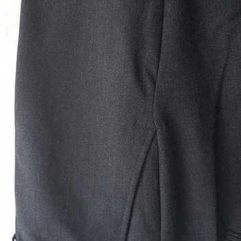 pantalon polyester pour homme avec élastique caché à la taille - anthracite 46 -48 -54 -58 - 60 - 66 à partir de