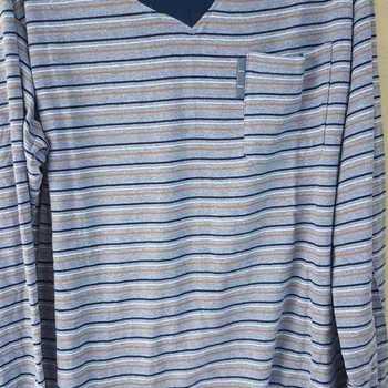 pyjama coton jersey pour homme - == poche bleu S - M - L - XL - XXL à partir de