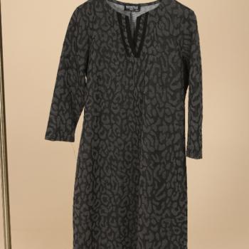 robe gris léopard 52/56