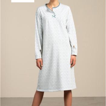 robe de nuit molletonnée pour dame - adèle M - L - XL - XXL à partir de