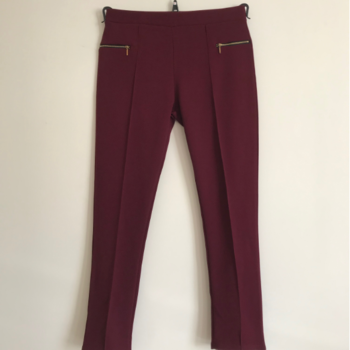 legging avec tirettes - bordeau S - M - L - XL - XXL - 3XL