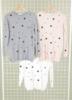 pull chats brodés avec 1 poche - rose T36/46