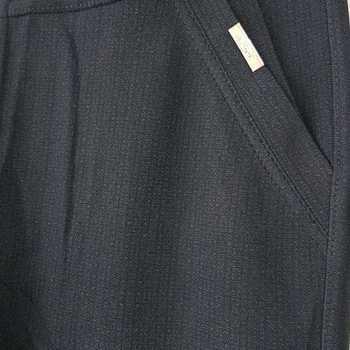 legging motif dans tissu - noir T38 à 46