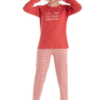 pyjama interlock eskimo rouge, see you in the morning
