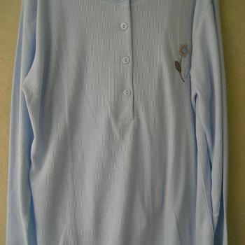 pyjama cotelé fleur