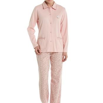 pyjama interlock boutonné eskimo appolonia XXL & XXXL