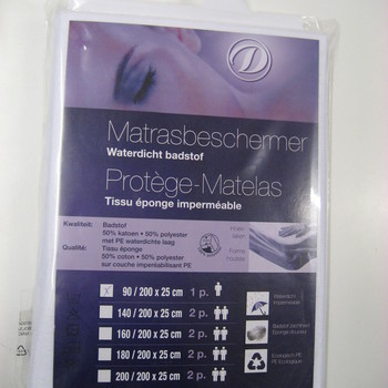 protège-matelas plastifié réclame 160*200cm