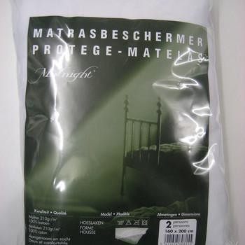 protège-matelas gros molleton 160*200cm - profondeur 25cm