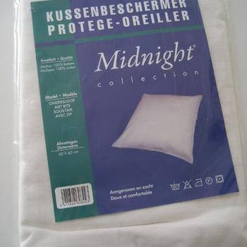 protège-oreiller avec tirette en gros molleton