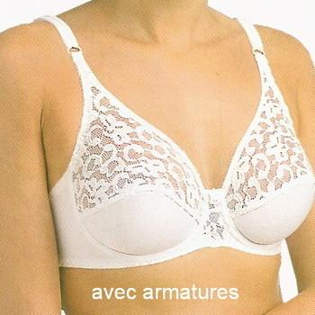 """soutien avec armatures """"Triolet"""" pour dame - 2097 champagne 75/90C"""