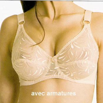 """soutien avec armatures """"Triolet"""" pour dame  - 2552"""