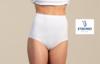culotte coton-élasthane - topduo maxislip blanc - t54 - 56 - 58 - 60 : 2 pour 11.60€ à partir de
