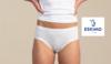 culotte coton-élasthane - topduo minislip blanc : 2 pour 11.60€ S - M - L - XL - XXL