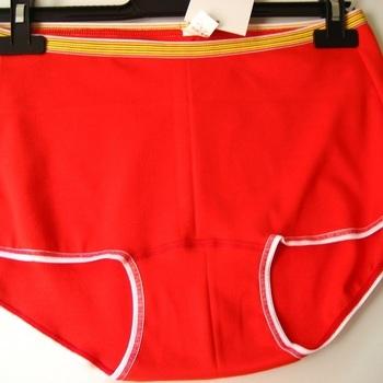 "shorty coton-élasthane ""Stern"" pour dame - grandes tailles - XXL XXXL rouge en PROMO"