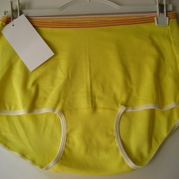 "shorty coton-élasthane ""Stern"" pour dame - grandes tailles - XXL XXXL jaune en PROMO"