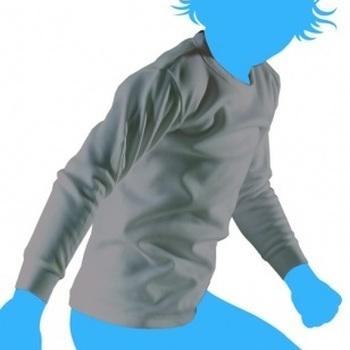 chemisette antartic longues manches pour garçon de 4 à 8 ans