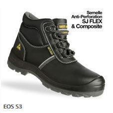 chaussures de sécurité eos, safety jogger