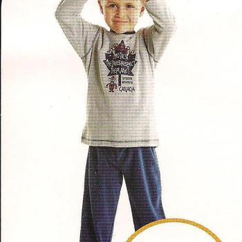 pyjama velours jasper (eskimo) 4ans EN PROMO