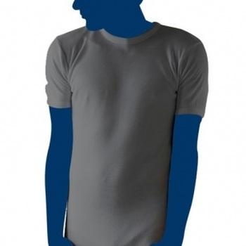 chemise de corps courtes manches en thermal