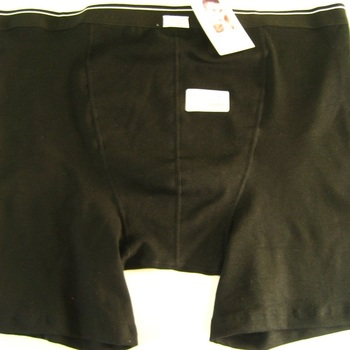 "shorty ""Stern"" coton-élasthane noir - David - grandes tailles"