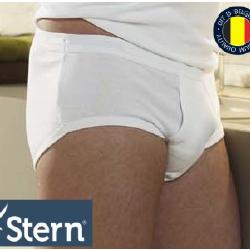 """slip coton """"Stern"""" avec ouverture pour homme - blanc M - L - XL - XXL - 3XL - 4XL à partir de"""