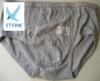 """slip coton """"stern"""" avec ouverture - gris chiné - M - L - XL - XXL - 3XL - 4XL à partir de"""