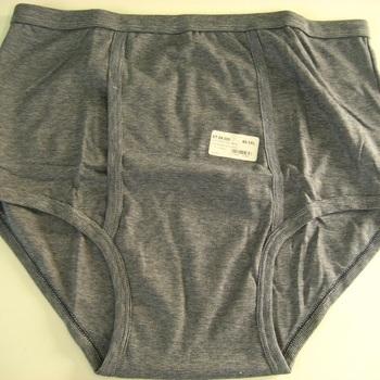 slip coton lourd - taille haute - avec ouverture - Stern pour homme - grandes tailles