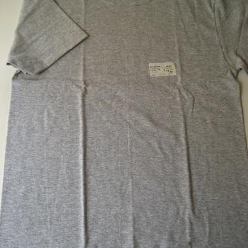 """t-shirt coton """"stern"""" courtes manches en gris chiné pour homme - S- M - L - XL - XXL - 3XL à partir de"""