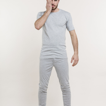 """t-shirt courtes manches """"eskimo"""" antartic écru"""