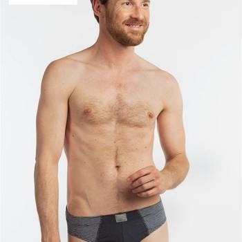 """slip coton-polyester """"eskimo"""" pour homme - nashville 1 gris + 1 jeans : 2 pour 11.50€"""