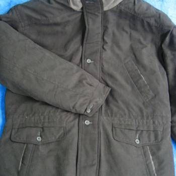 """veste """"peau de pêche"""" pour homme - noir - reste L/XL"""