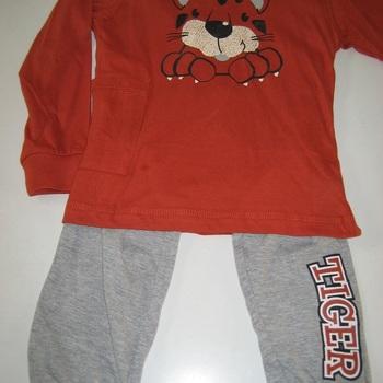 pyjama coton tigre jusque 8 ans EN PROMO