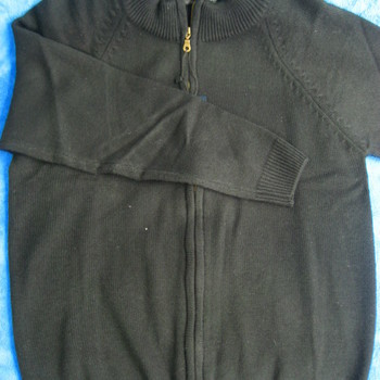 gilet tirette avec laine - grenoble noir - M - L - XL - XXL