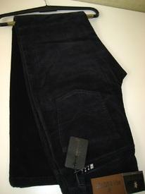 pantalon 5 pocket velours fines côtes pour homme