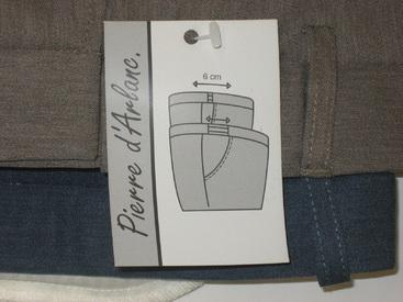 pantalon habillé classique pour homme avec élastique caché à la taille pour le confort