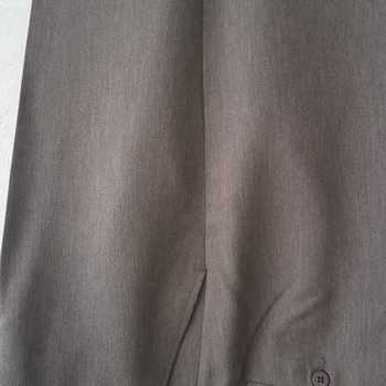 pantalon pour homme avec élastique caché à la taille pour le confort moyen vert kaki T58